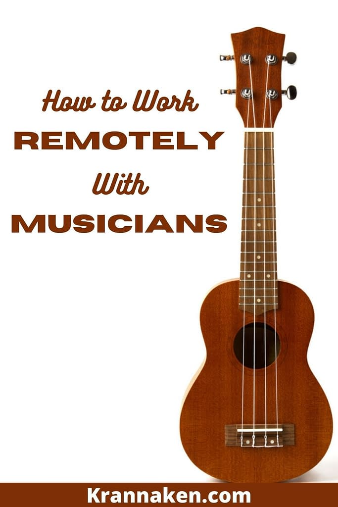 In this post we look at how to work remotely with musicians.  This is taken from my experience of working with musicians worldwide..