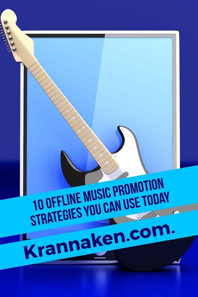 offline music promotion