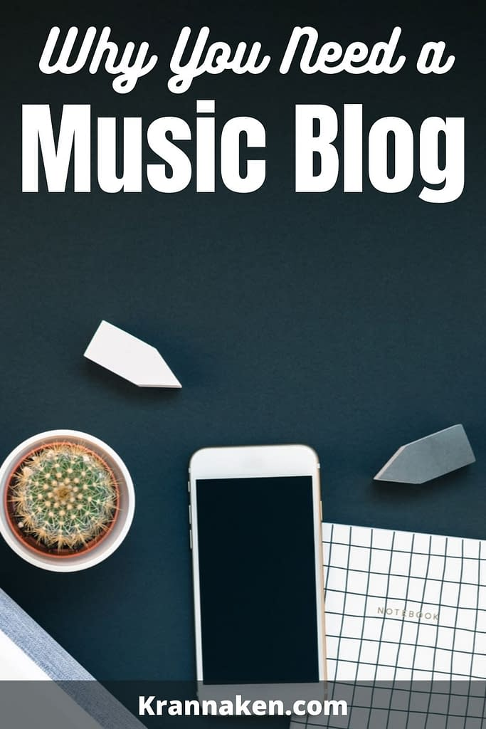 why you need music artist websites
