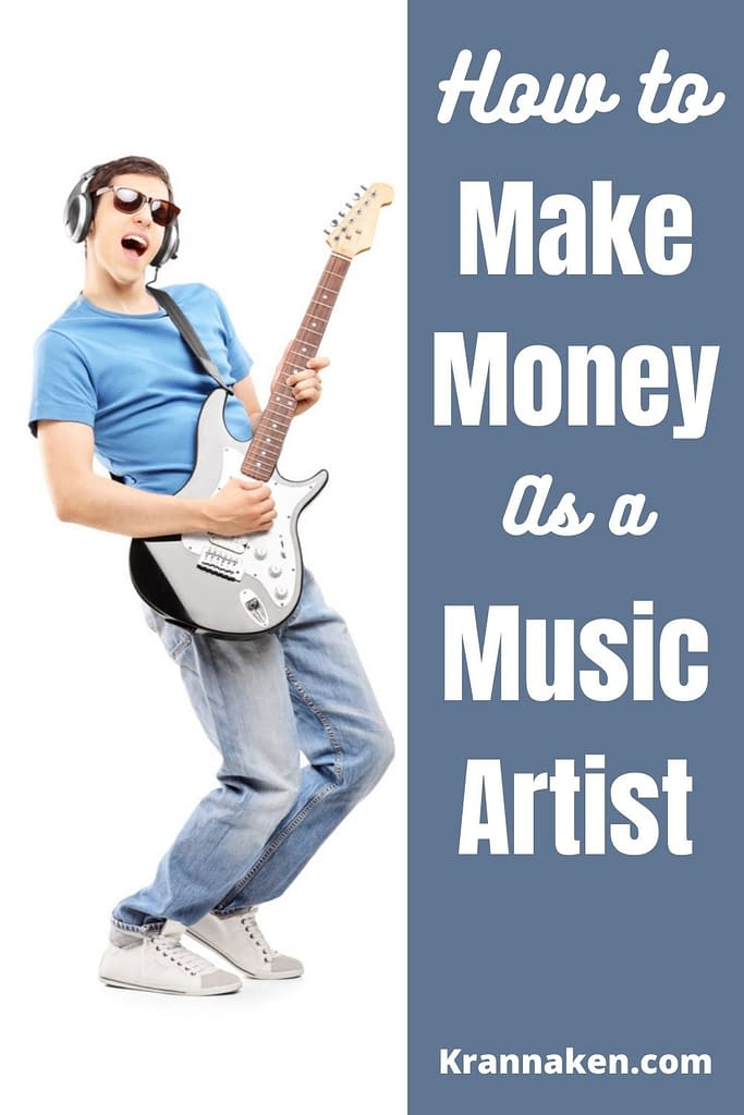 7 Ways to Make $100 Per Day From Your Music, make money with music: