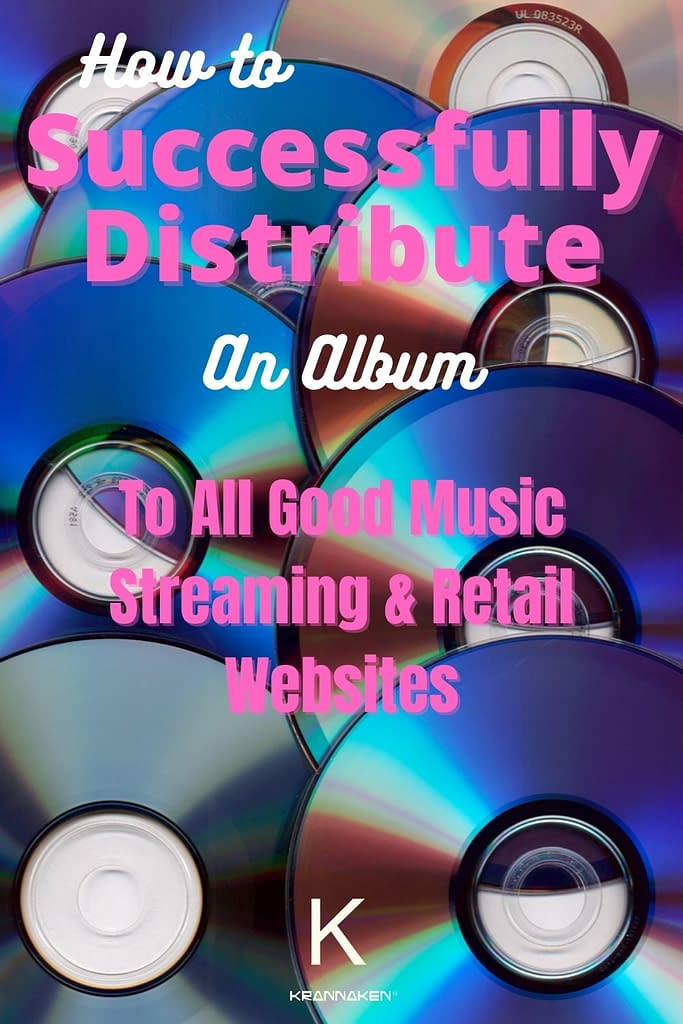how to successfully distribute an album