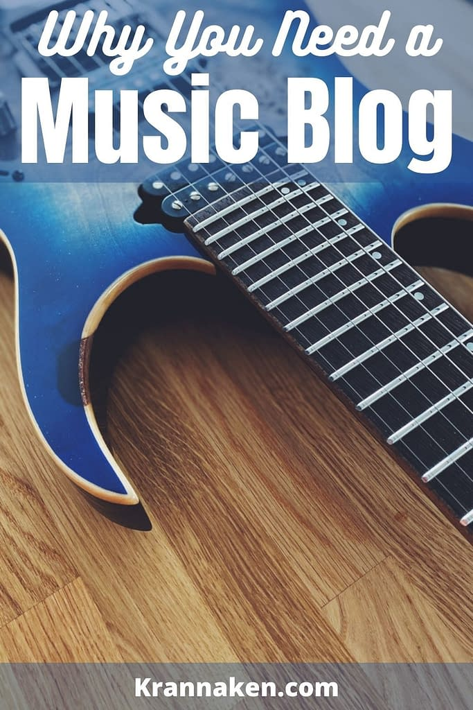 Why you need a music blog