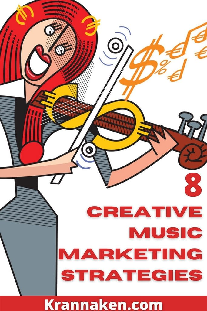 In this blog post I am sharing 8 creative music marketing strategies that you can implement to share your music with the world
