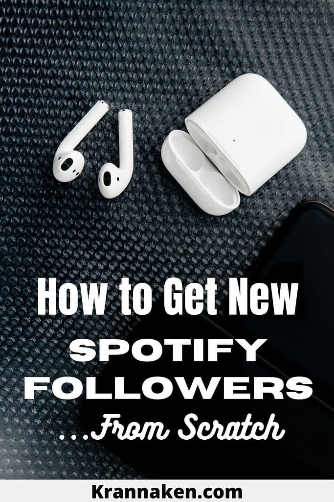 This post on how to get new Spotify followers is inspired by a video from Chris aka Manafest